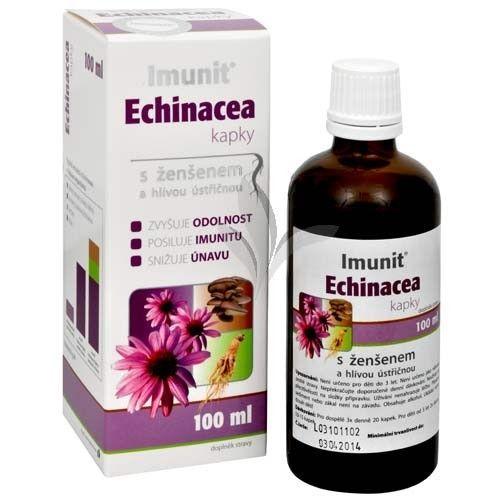 Simply You Imunit Echinacea kapky s ženšenem a hlívou ústřičnou 100 ml