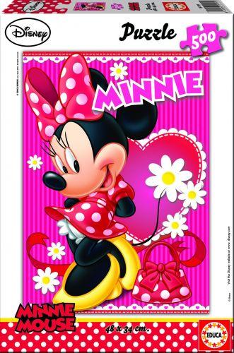 Educa Puzzle Minnie 500 dílků