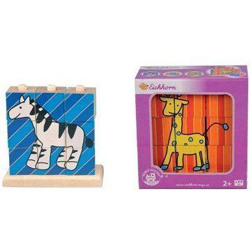 Simba Eichhorn Dřevěné nasouvací kostky