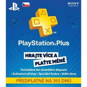 Sony Předplatné Playstation Plus Card 365 dnů
