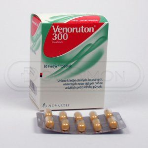 Venoruton 300 300 mg 50 kapslí