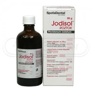 Jodisol roztok 80 g