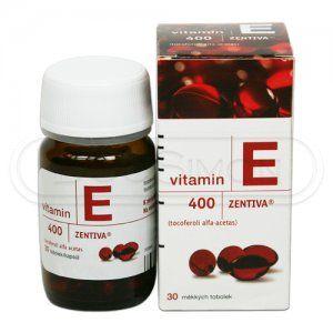 Vitamin E 400 400 mg 30 kapslí