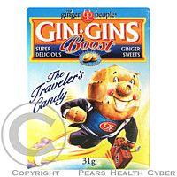 GIN GINS Boost bonbony 31 g cena od 0,00 €