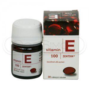 Vitamin E 100 mg 30 kapslí