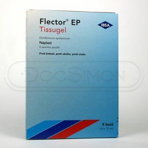 FLECTOR EP TISSUGEL náplast 5 ks