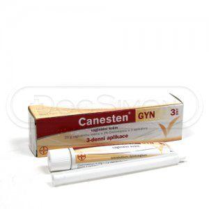 CANESTEN GYN vaginální krém 20 g 2 % 3 ks
