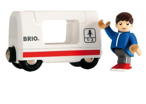 Brio Vagón s klukem k lokomotivě 33508