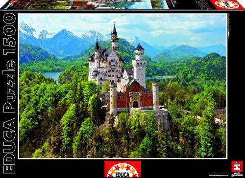 Educa Puzzle Neuschwanstein 1500 dílků