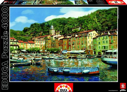 Educa Puzzle Portofino 4000 dílků