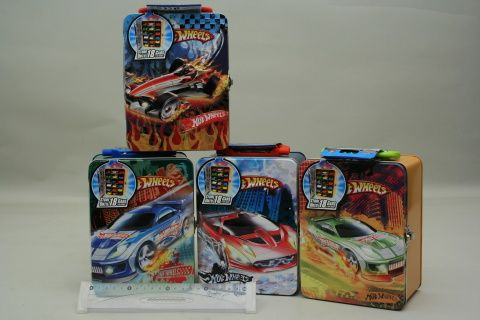 Mac Toys Hot Wheels kufřík na 18 autíček
