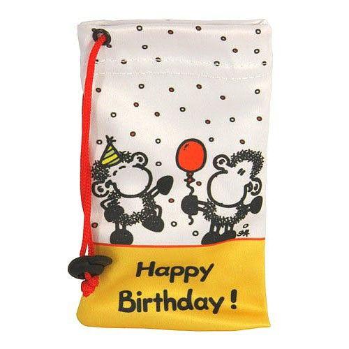 Sheepworld Pouzdro na mobil Happy Birthday