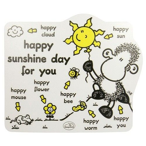 Sheepworld Podložka pod myš Happy Sunshine