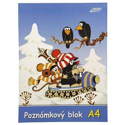Bobo Blok KRTEK A4 prázdný