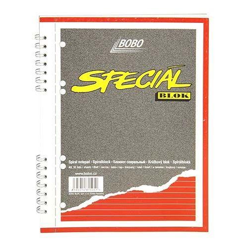 Bobo Speciál blok A5 linky