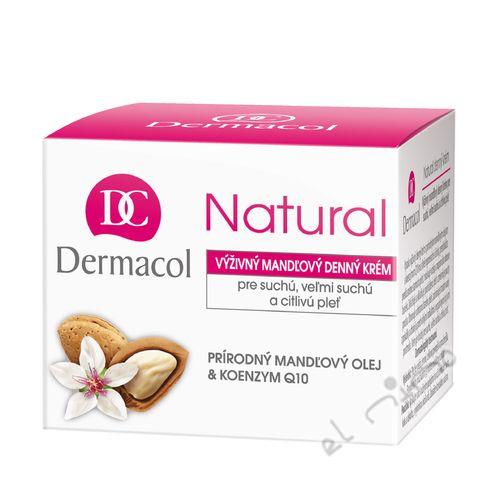 Dermacol Výživný mandlový denní krém Natural - kelímek 50 ml