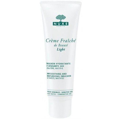 Nuxe 24hodinová zklidňující a hydratační emulze Creme Fraiche® De Beauté Light (24hr Soothing And Moisturizing Emulsion) 50 ml
