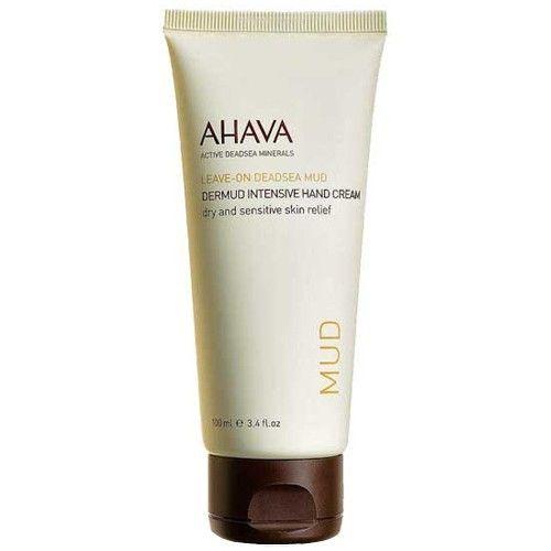 Ahava Intenzivní bahenní krém na ruce Leave-On Deadsea Mud (Dermud Intensive Hand Cream) 100 ml