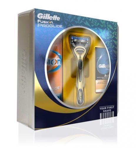 Gillette Dárková sada Gillette Fusion Proglide (Your First Shave) cena od 0,00 €
