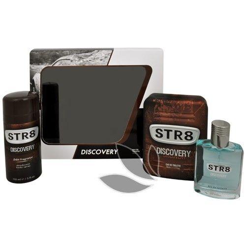 STR8 Discovery - toaletní voda s rozprašovačem 50 ml + deodorant ve spreji 150 ml
