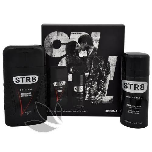 STR8 Original - deodorant ve spreji 150 ml + sprchový gel 250 ml