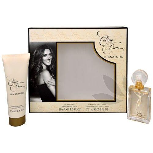 Celine Dion Signature - toaletní voda s rozprašovačem 30 ml + tělové mléko 75 ml cena od 0,00 €