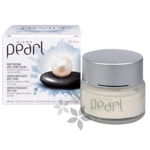 Diet Esthetic Micro Pearl denní protivráskový krém s perlami SPF 15 (Moisturizing Anti-Aging Cream) 50 ml