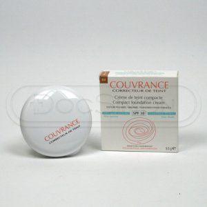 Avene Couvrance kompaktní make-up pudrový vzhled odstín 04 Honey SPF 30 (Compact Foundation Cream Oil-Free) 9,5 g cena od 0,00 €