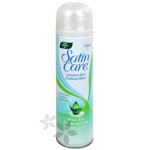 Gillette Satin Care gel na holení pro ženy Sensitive Skin (Shaving Gel) 75 ml cena od 0,00 €