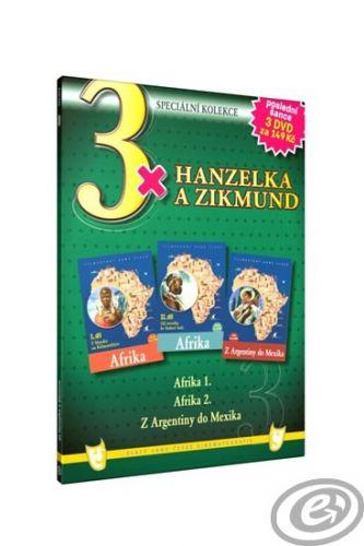 3x Hanzelka a Zikmund - 3DVD cena od 0,00 €
