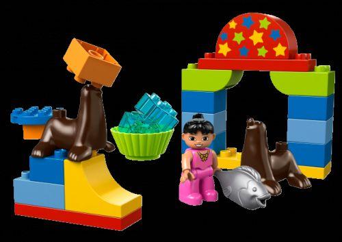 LEGO DUPLO Ville Cirkusové představení