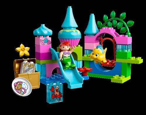 LEGO DUPLO Princezny Podmořský zámek víly Ariel