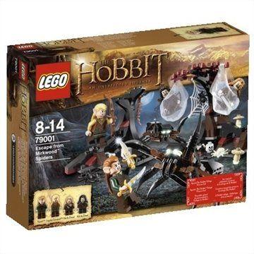 LEGO Hobbit Únik před pavouky z Mirk 79001