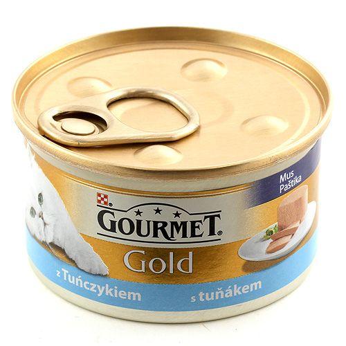 Purina GOURMET GOLD tuňák paštika 85 g
