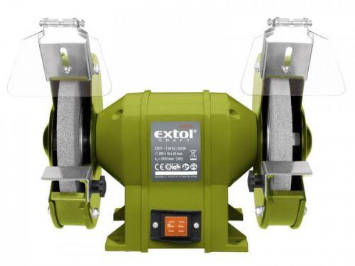 EXTOL CRAFT Bruska stolní dvoukotoučová 350W 200x16x š.20 mm