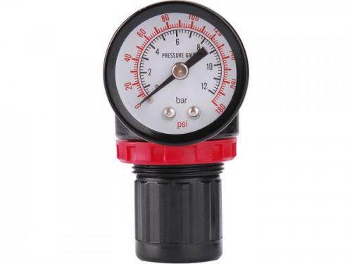 EXTOL PREMIUM Regulátor tlaku s manometrem konektor rychlospojek 1/4
