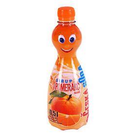 Česká soda Sirup pomeranč cena od 0,00 €