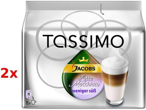 KRAFT Tassimo Jacobs Latte Less Sweet