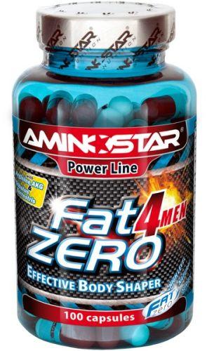Aminostar FatZero 4Men 100 kapslí
