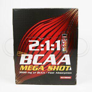Nutrend BCAA Mega Shot 20x60 ml