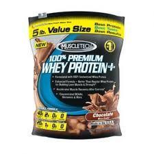 MuscleTech 100 % Premium Whey Protein Plus 2270 g