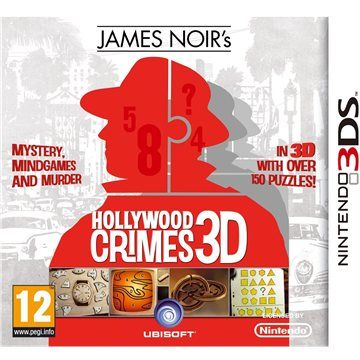 UBISOFT James Noirs Hollywood Crimes 3D pro Nintendo 3DS