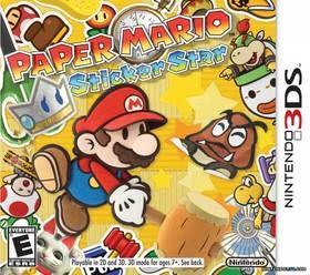 NINTENDO Paper Mario: Sticker Star pro Nintendo 3DS
