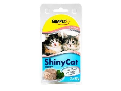 Gimborn ShinyCat Kitten kuře 2x85 g cena od 0,00 €