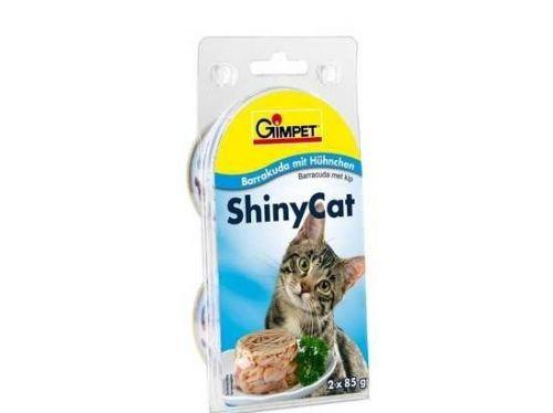 Gimpet ShinyCat barakuda a kuře 2x85 g cena od 0,00 €