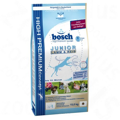 Bosch Junior Lamb & Rice 15 kg cena od 0,00 €