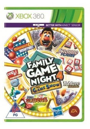 EA Hasbro Family Game Night 4 pro XBox 360