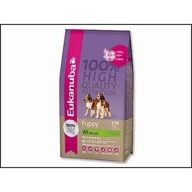 Eukanuba Puppy & Junior Lamb & Rice 2,5 kg cena od 0,00 €