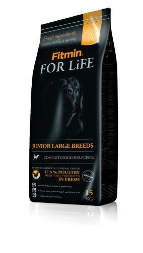 DIBAQ FITMIN Dog For Life Junior Large Breeds krmivo pro štěňata 15 kg cena od 31,00 €