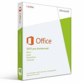 Microsoft Office 2013 pro domácnosti, bez média